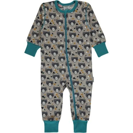 Maxomorra Pyjamas LS Grizzlybear