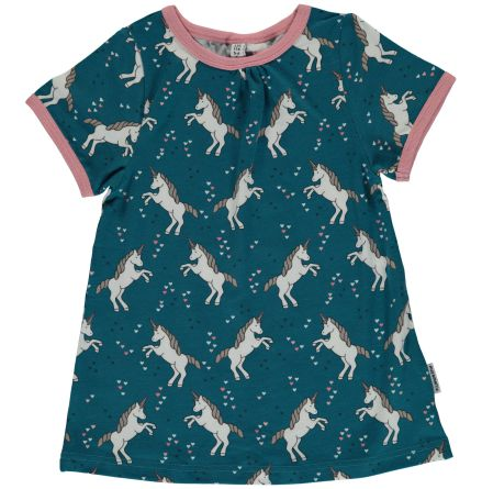 Maxomorra Tunic SS Unicorn