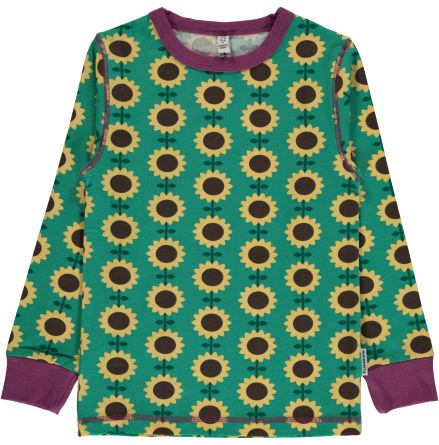 Maxomorra Top LS Sunflower