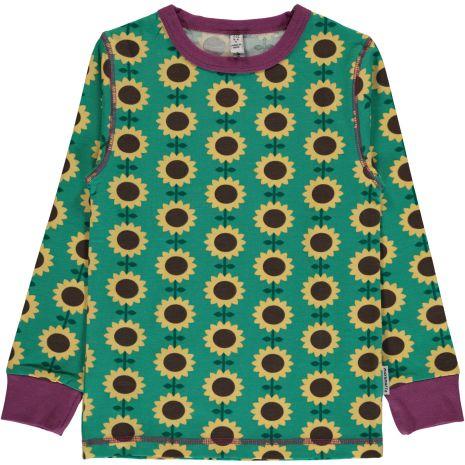 Maxomorra Top LS Sunflower