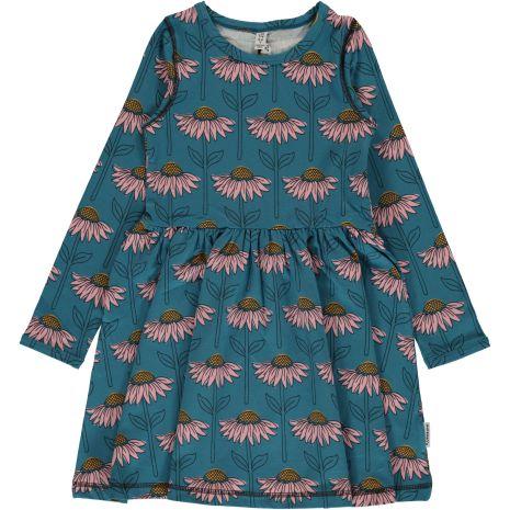 Maxomorra Dress LS spin Echinacea