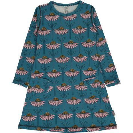 Maxomorra Dress LS Echinacea