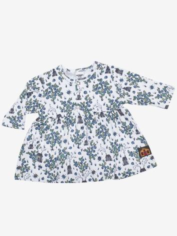 Modeerska Huset Baby dress Blueberry Picking