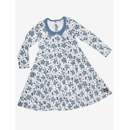 Modeerska Huset Dress Blueberry picking