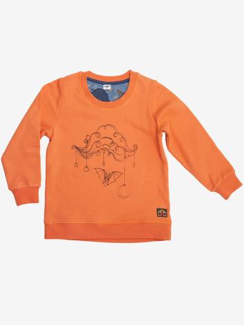 Modeerska Huset Sweater Bat cloud