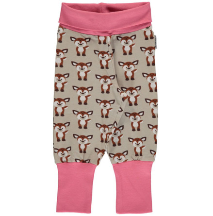 Maxomorra Pants rib Fawn