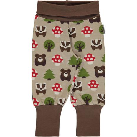 Maxomorra Pants rib Forest