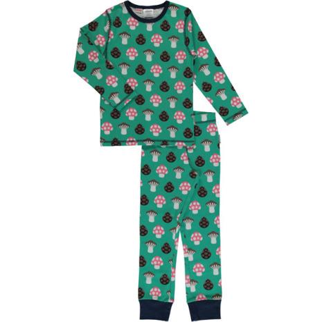 Maxomorra Pyjamas Set LS Mushroom