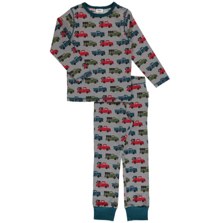 Maxomorra Pyjamas Set LS Truck