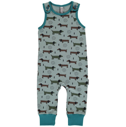 Maxomorra Playsuit Dotted puppy one