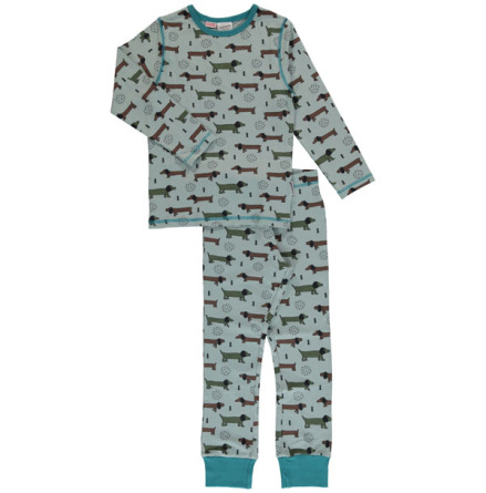 Maxomorra Pyjamas Set Dotted puppy one