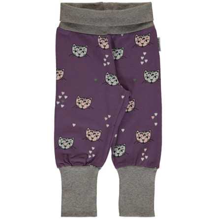 Maxomorra Pants rib Kitty cat