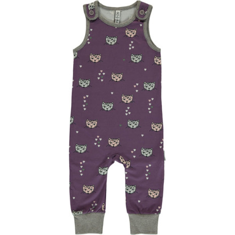 Maxomorra Playsuit Kitty Cat
