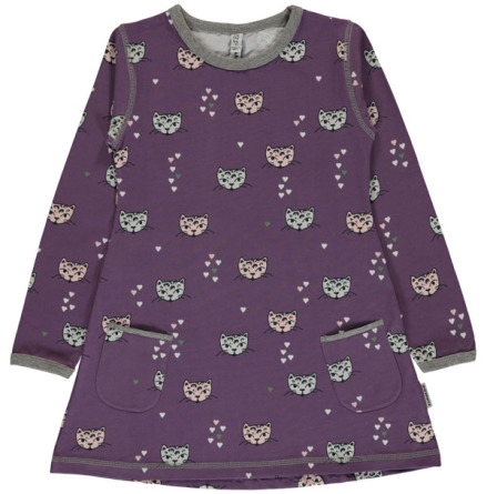 Maxomorra Tunic LS Kitty Cat