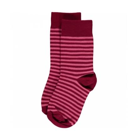 Maxomorra Pink Stripes Mix 2-pack