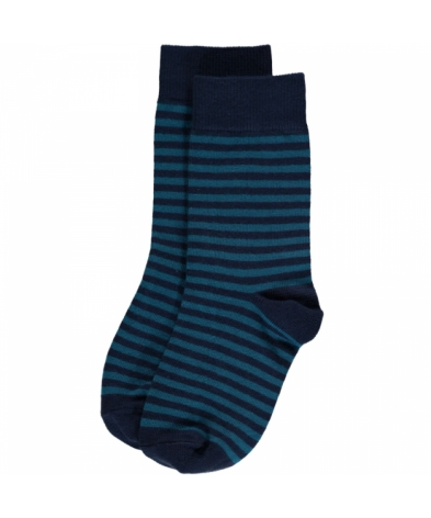 Maxomorra Blue Stripes Mix 2-pack
