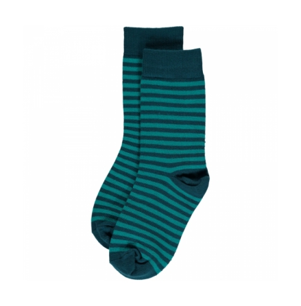 Maxomorra Turquoise Stripes Mix 2-pack