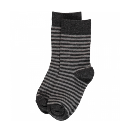 Maxomorra Grey Stripes Mix 2-pack