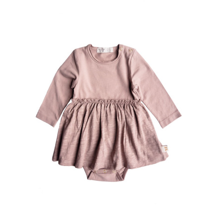 By Heritage Lissy Body with skirt part solid old pink