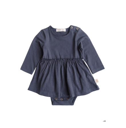By Heritage Lissy Body with skirt part solid navy blue