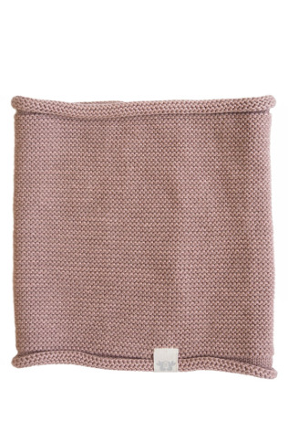 By Heritage Trevor knitted neck tube cotton/merino