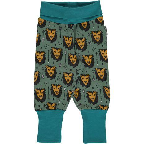 Maxomorra Pants rib Lion Jungle