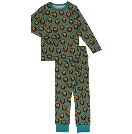 Maxomorra Pyjamas set LS Lion Jungle