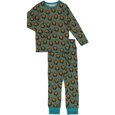 Maxomorra Pyjamas set LS Lion Jungle