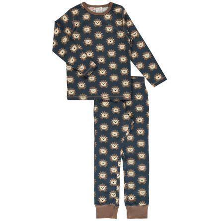 Maxomorra Pyjamas set LS Hedgehog