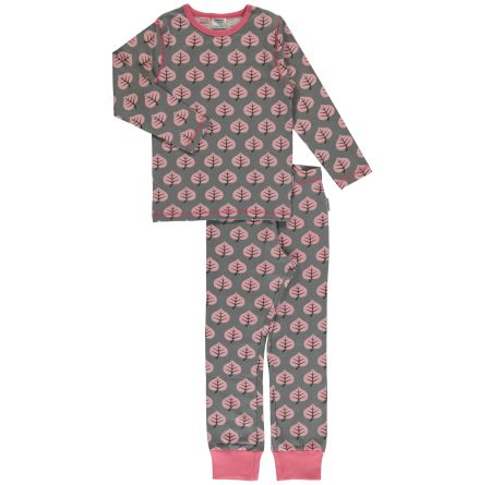 Maxomorra Pyjamas set LS Leaf