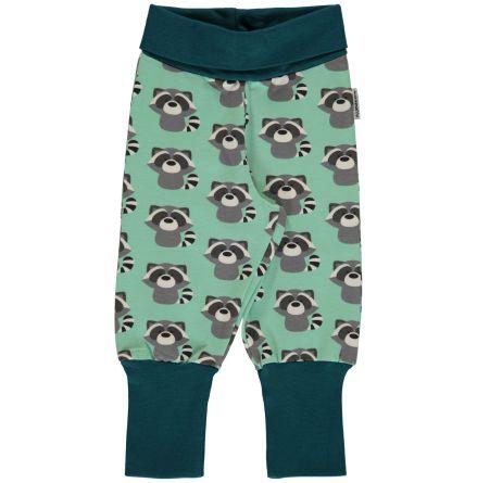 Maxomorra Pants rib Raccoon