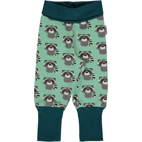 Maxomorra Pants rib Raccoon