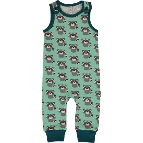 Maxomorra Playsuit Raccoon