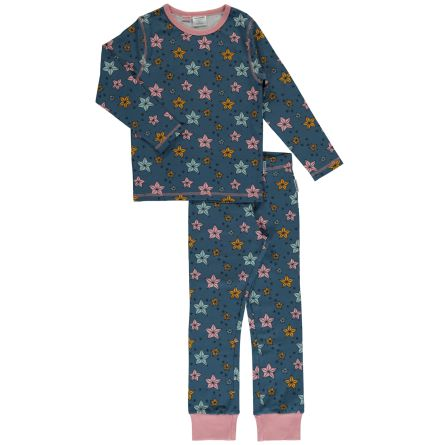 Maxomorra Pyjamas set LS Night Sparlke