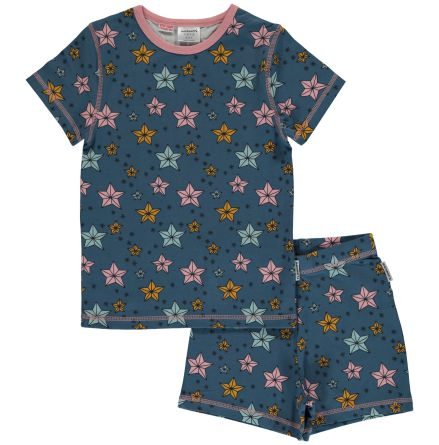Maxomorra Pyjamas set ss Night Sparkle