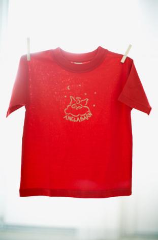 Vildängel t-shirt änglabarn röd