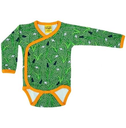Duns Kimono Body Snowdrop Dark Green