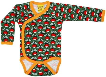 Duns Kimono Body Radish Dark Green