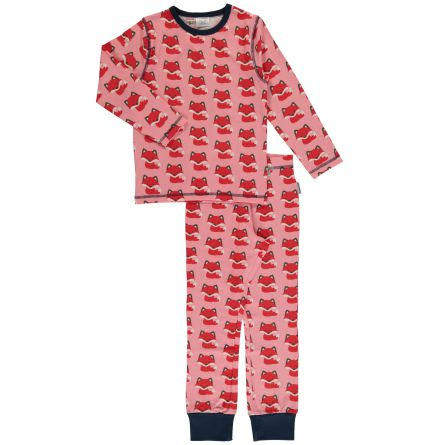Maxomorra Pyjamas set LS Fox