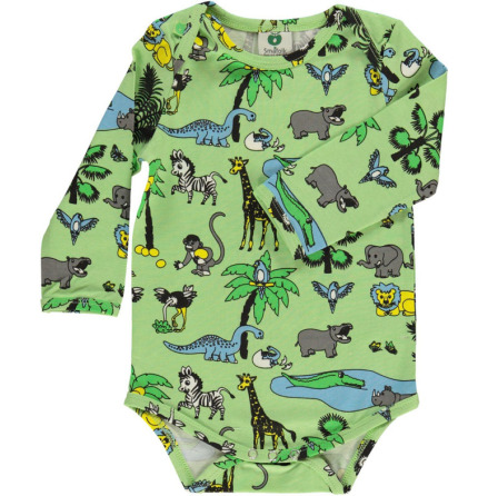 Småfolk Body LS Jungle Green