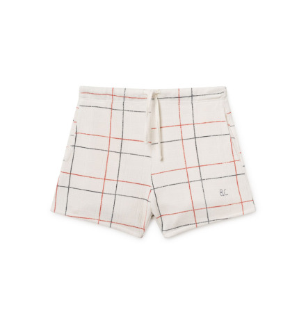 BoBo Choses White Line Shorts