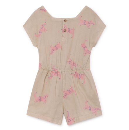 BoBo Choses Dogs Sleeveless Playsuit
