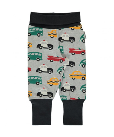 Maxomorra Rib Pants Traffic