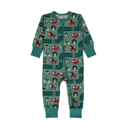 Maxomorra Pyjamas LS Big City