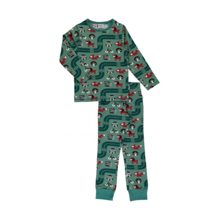 Maxomorra Pyjamas Set LS Big City