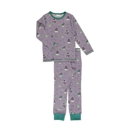Maxomorra Pyjamas Set LS Cupcake