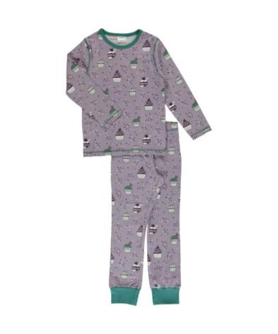 Maxomorra Pyjamas Set LS Cupcake
