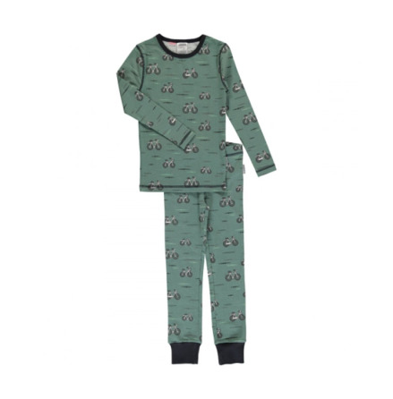Maxomorra Pyjamas Set LS Bicycle