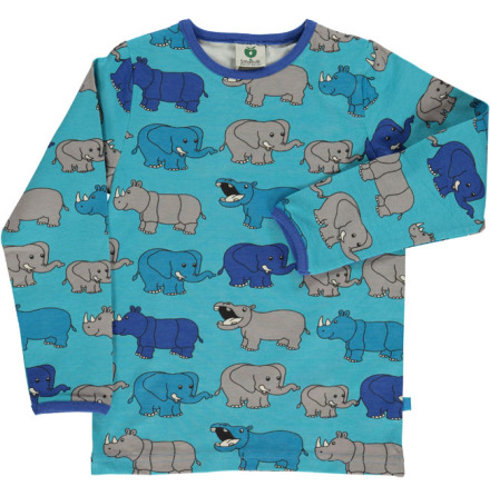 Småfolk T-shirt LS Elephant