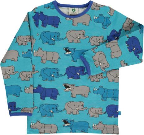 Småfolk T-shirt LS Elephant